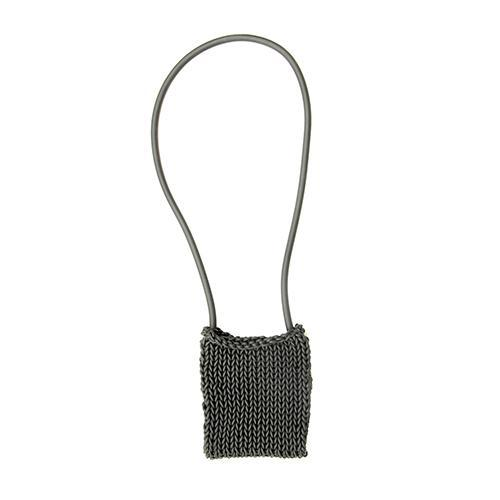 Neo12 Knitted Neoprene Rubber Handbag by Neo Design Italy