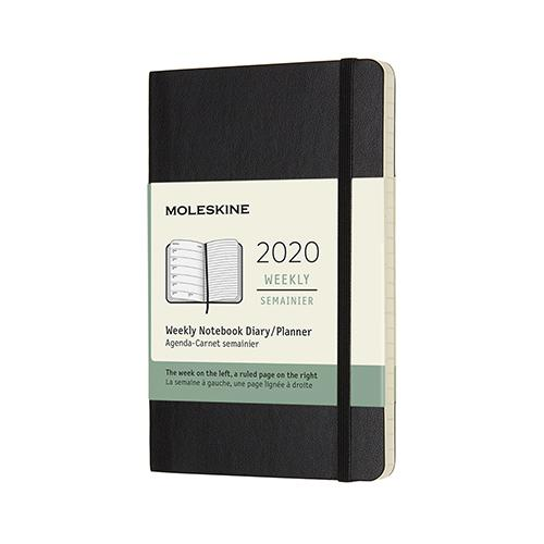 2020 Weekly Notebook Planner by Moleskine