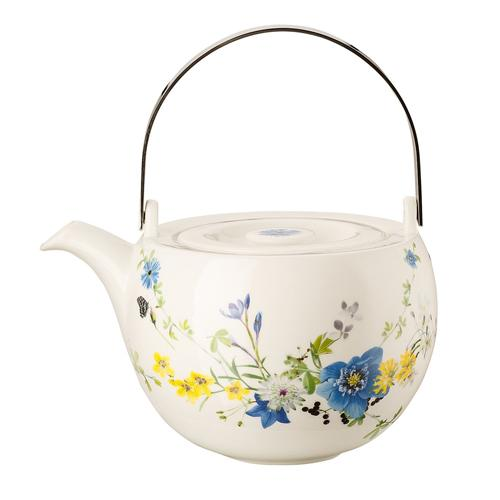 Brillance Fleurs des Alpes Tea Pot for Rosenthal