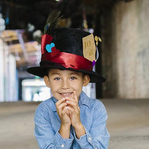 Alice Through The Looking Glass: Design Your Own Mad Hatter Hat by Disney & Seedling