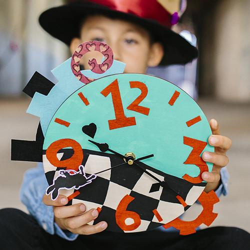 Alice Through The Looking Glass: Design Your Own Clock by Disney & Seedling