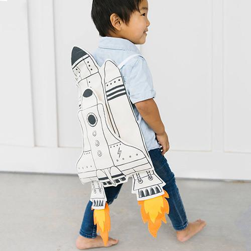 Galaxy Rocket Adventure Cape by Seedling Littles