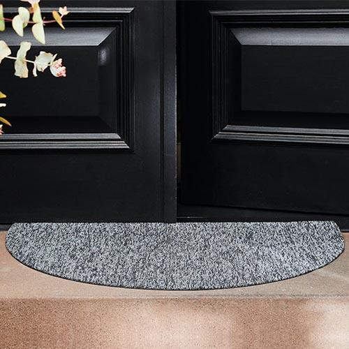 Shag Heathered Welcome Mat by Chilewich
