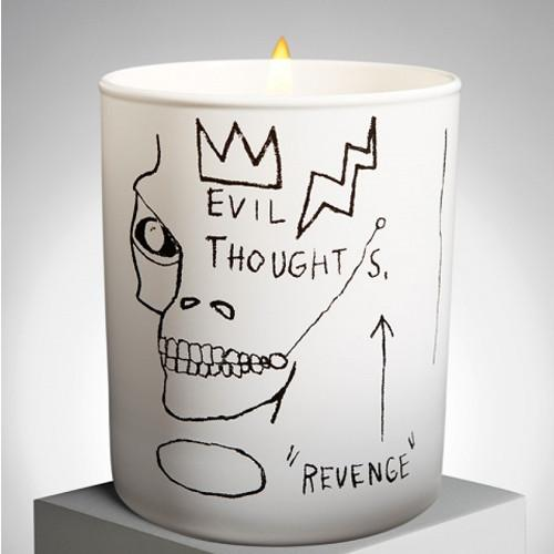 Jean-Michel Basquiat Candles by Ligne Blanche Paris
