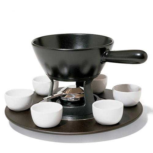 Mami Lazy Susan Tray for Fondue or Bourguignonne by Stefano Giovannoni for Alessi
