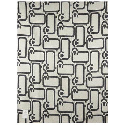 "Flock of Sheep 50"" x 70"" Throw Blanket by Woolrich"