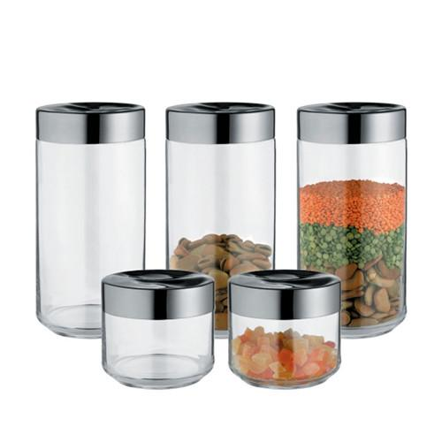 Julieta Kitchen Containers / Jars by Lluis Clotet for Alessi