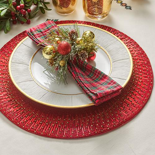 Holiday Sparkle Placemats, Set of 4 by Kim Seybert