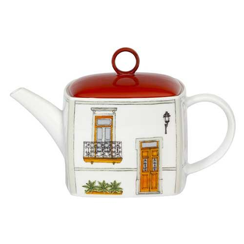 Alma de Lisboa Tea Pot by Beatriz Lamanna for Vista Alegre