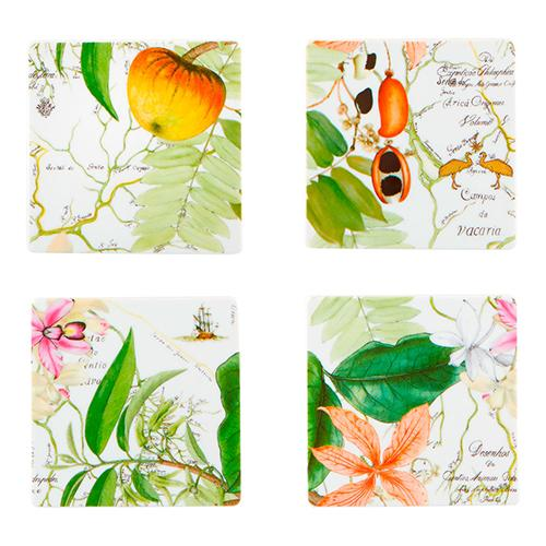 Amazonia Coasters, Set of 4 by Vista Alegre