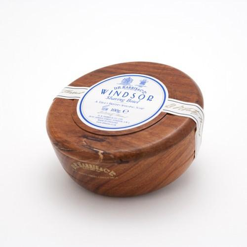 Windsor Shaving Soap in Wooden Bowl by D.R. Harris