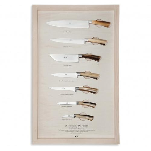 Wall Display Kitchen Knives No. 2737 by Berti