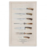 Wall Display - Serving Knives No. 2738 by Berti