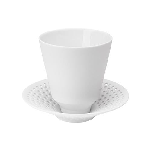 Cielo Beaker with Saucer by Hering Berlin