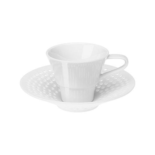 Cielo Espresso Cup and Saucer by Hering Berlin