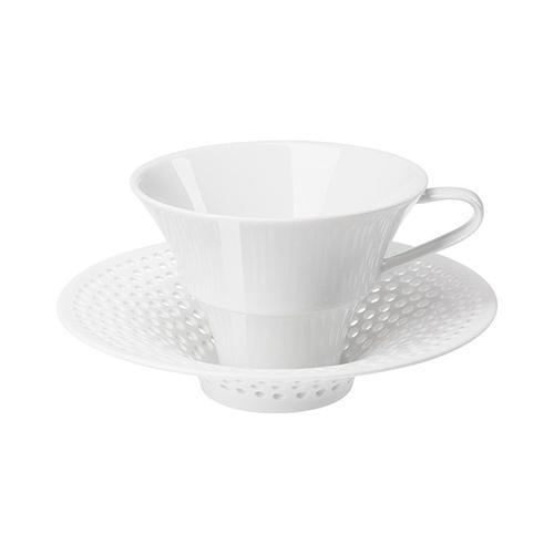 Cielo Coffee or Tea Cup and Conical Saucer by Hering Berlin