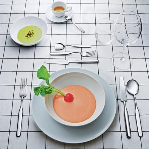 Collo-alto Dessert Fork by Inga Sempe for Alessi