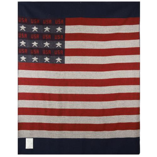 "Freedom Flag 60"" x 72"" Throw Blanket by Woolrich"
