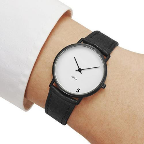 5 O'Clock Watch by Tibor Kalman for M&Co