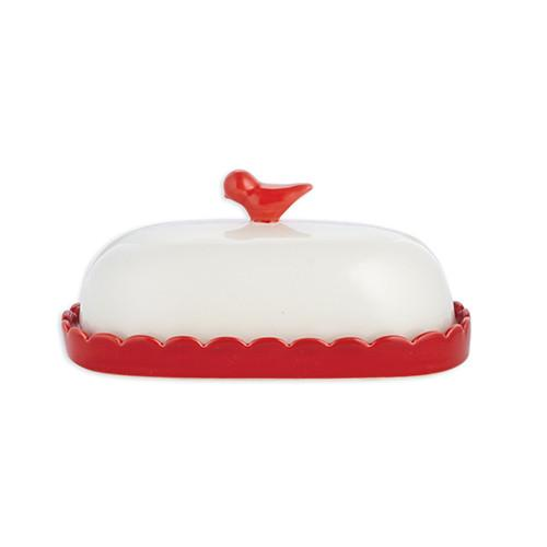Bird Butter Dish by Whitney Smith