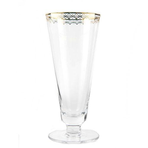 Art Deco Fizz Glass