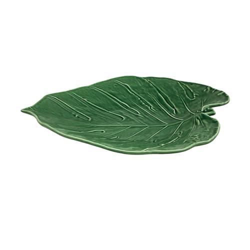 Leaves Adam's Rib Platter by Bordallo Pinheiro