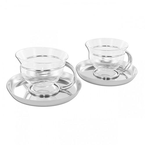 Filio Teacups, set of 2 by Mono GmbH
