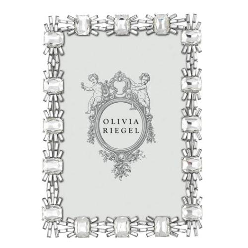 Aurora Crystal Photo Frame by Olivia Riegel