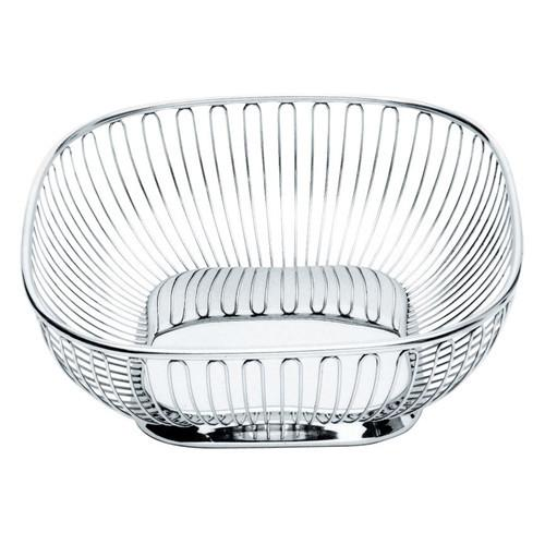 845 Square Bread Basket and Fruit Bowl by Alessi