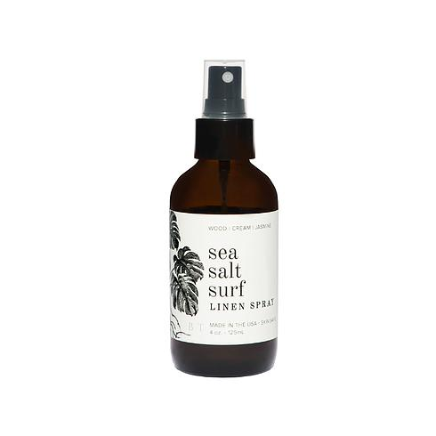 Sea Salt Surf  4 oz Linen Spray Front by Broken Top Candle Co.
