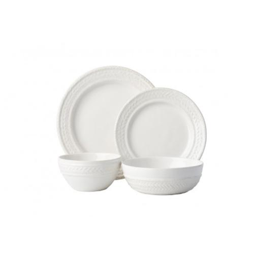 Le Panier Whitewash 4 Piece Place Setting by Juliska