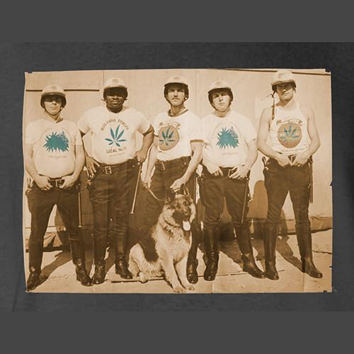 Five Star SF Policemen Marijuana T-Shirt by Hippo-Tees
