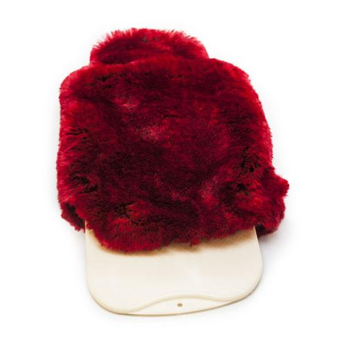 Faux Fur Hot Water Bottle by Evelyne Prelonge