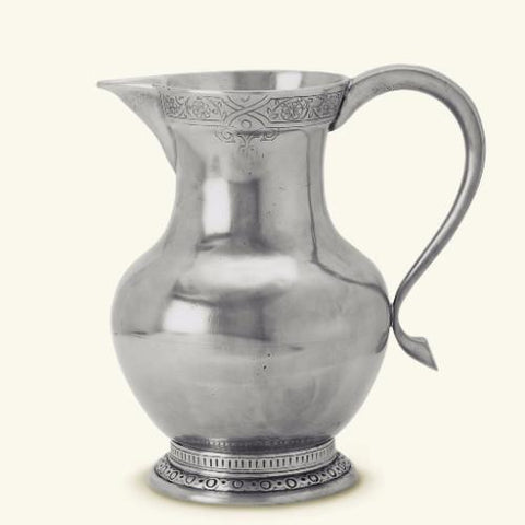 Engraved Pewter Pitcher by Match Pewter