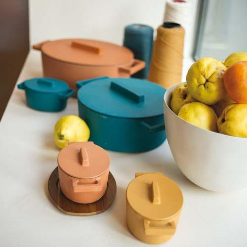 Terracotto Cast Iron Cookware by Sambonet