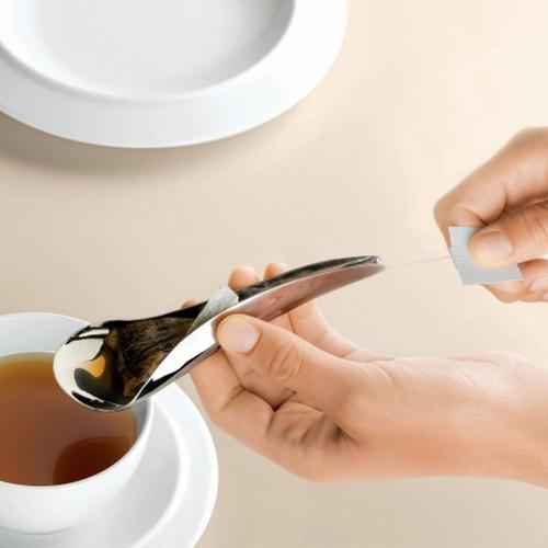 Teo Tea Bag Spoon by LUCY.D for Alessi