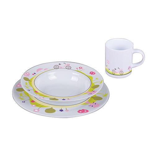 3-Piece Porcelain Kids Dinnerware Sets by Sambonet