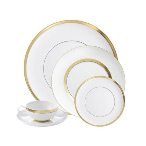 Domo Gold 5 Piece Place Setting by Vista Alegre