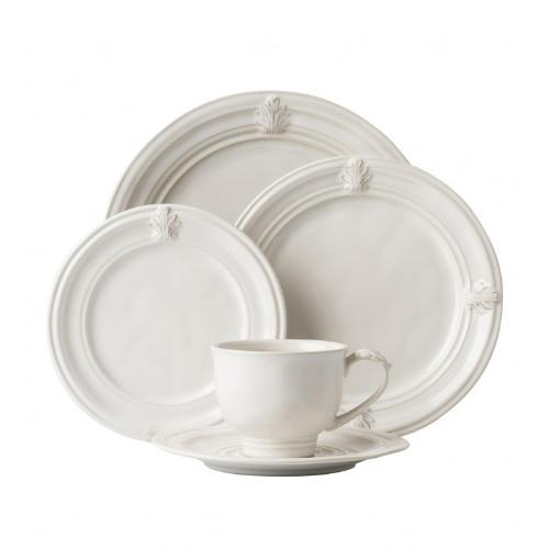 Acanthus Whitewash 5 Piece Place Setting by Juliska