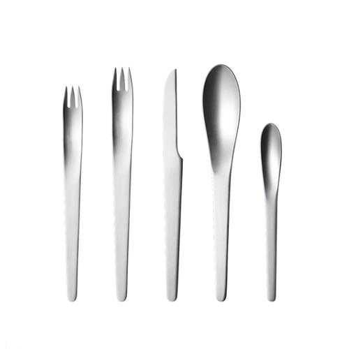 AJ 5 Piece Place Setting by Arne Jacobsen for Georg Jensen