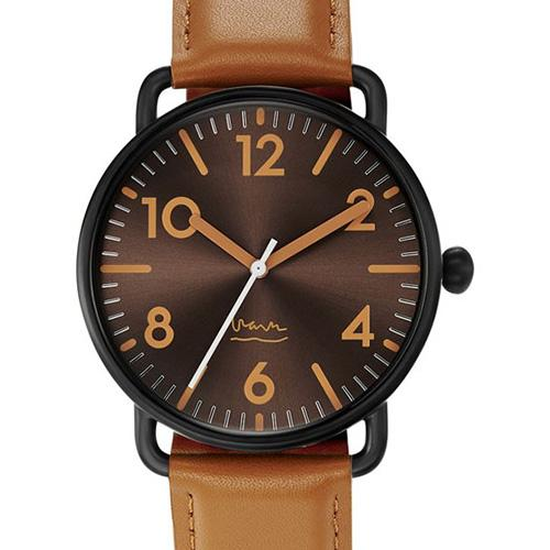 Black & Tan Witherspoon Watch by Michael Graves for Project Watches