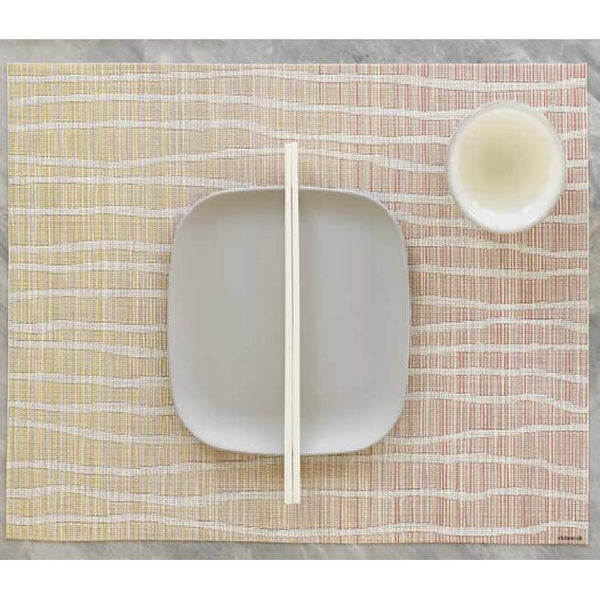 Chilewich: Float Woven Vinyl Rectangular Placemats