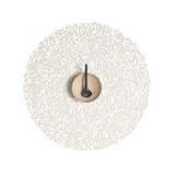 Petal Pressed Round Vinyl Placemats by Chilewich Set of 4