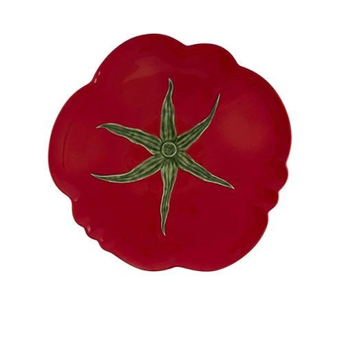 "Tomato Pizza Plate, 16"" by Bordallo Pinheiro"