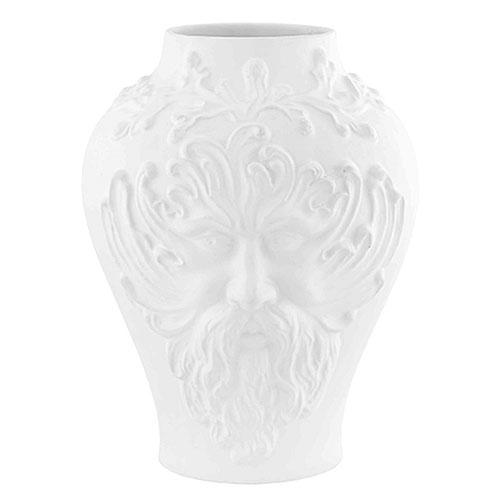 "Censurado Frowns Vase, 9"" by Bordallo Pinheiro"