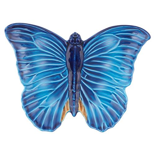 Cloudy Butterflies Catchall Tray by Claudia Schiffer for Bordallo Pinheiro