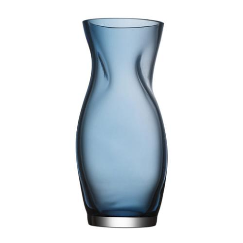 "Squeeze 9"" Blue Vase by Lena Bergstrom for Orrefors"