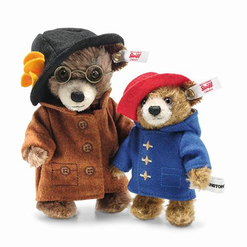 Miniature Paddington Bear and Aunt Lucy Limited Edition Set by Steiff