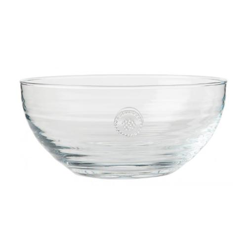 "Berry and Thread Glassware 8.5"" Bowl by Juliska"