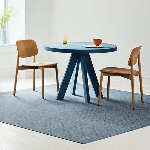Bamboo Woven Vinyl Floor Mat by Chilewich